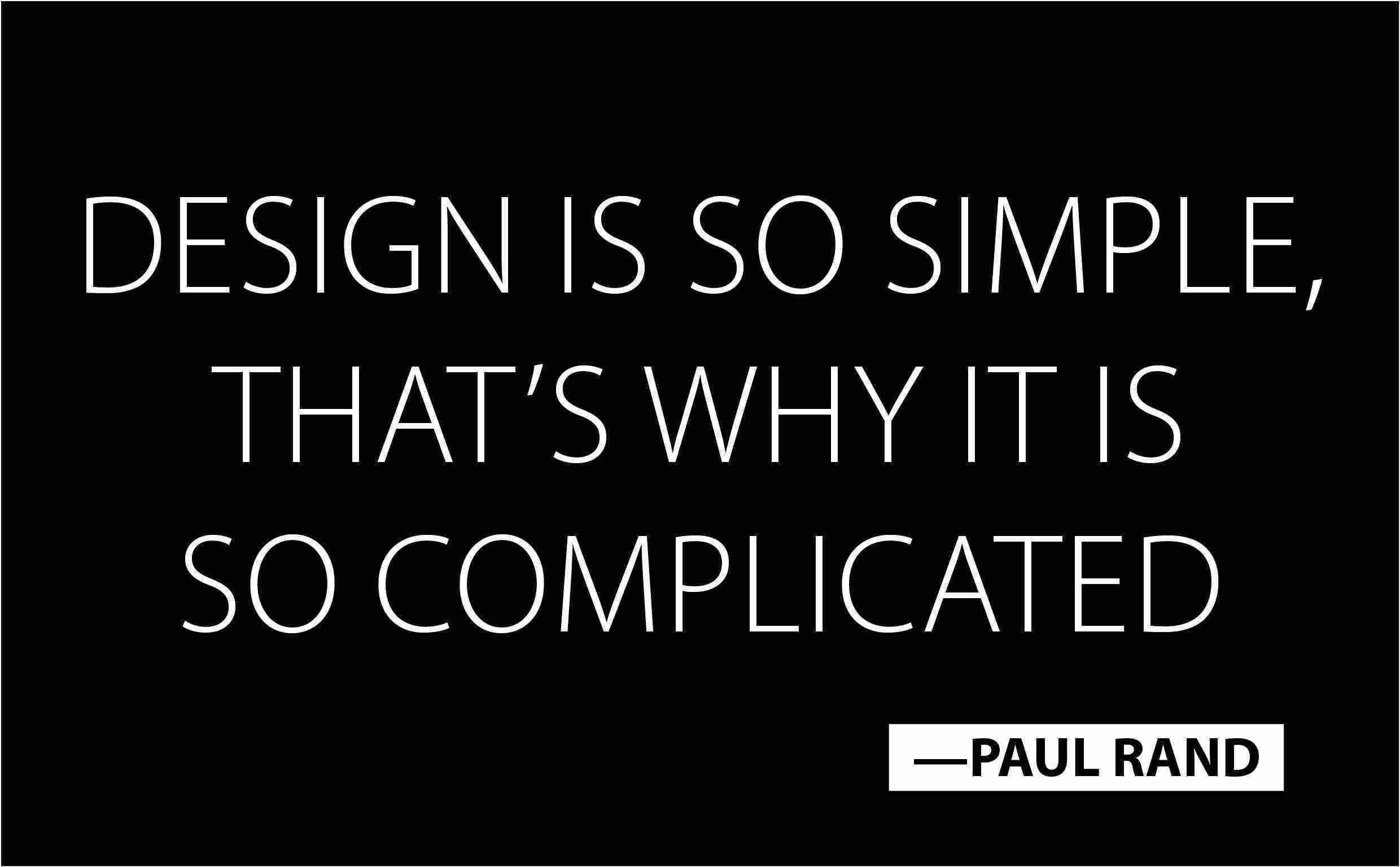 Quotes On Design -